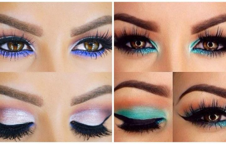 How to make up your eyes according to color and shape